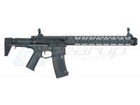 "AMOEBA AM-016 AEG with 13.5"" M4 Keymod Handguard – BK"