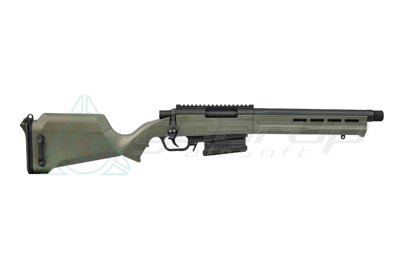 "AMOEBA ""STRIKER"" S2 SNIPER RIFLE – OLIVE DRAB"