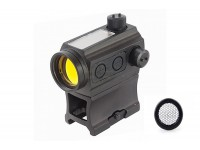 Solar Power Red Dot with Kill Flash (Black)