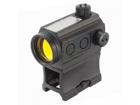 Solar Power Red Dot with Riser Mount (Black)