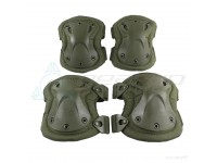 Tactical Knee & Elbow Pad Set OD