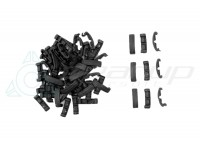 TACTICAL INDEXCLIPS FOR RAIL 60PCS SET (BK)