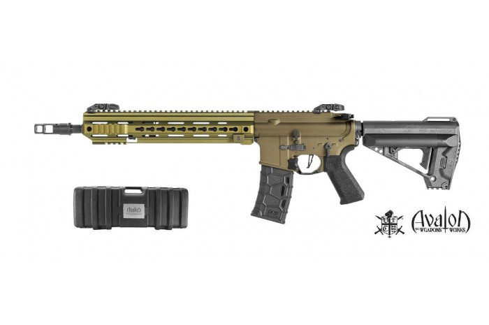 Avalon Calibur Carbine AEG (TAN) (DX)