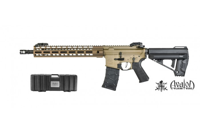 AVALON SABER CARBINE AEG (Tan) (DX)