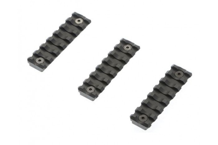 Key-Mod Rail Section (7 Slot/BK)