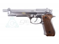 WE M92 LONG BARREL CHROME