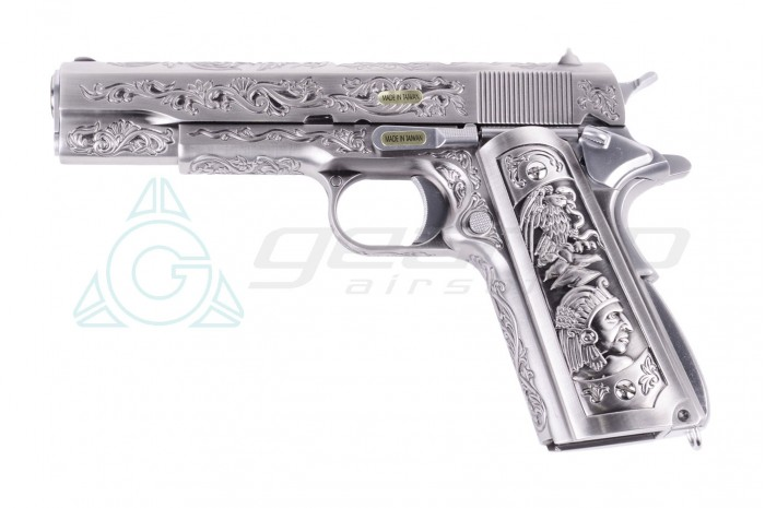 WE 1911 CHROME (CLASSIC FLORAL PATTERN)